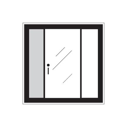 Porte patio elegancia solaris qu bec portes et fen tres for Porte patio dimension
